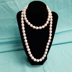 Sterling silver ming freshwater Pearl's